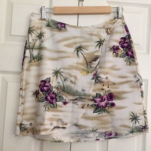 Tommy Bahama Tropical Purple Skirt Cover Up